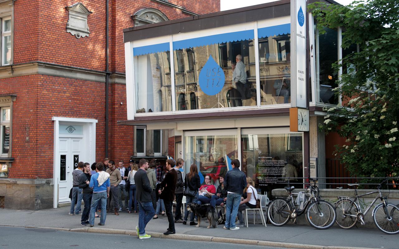 Der ehemalige Lüdecke Uhrenladen ist Ausstellungsfläche